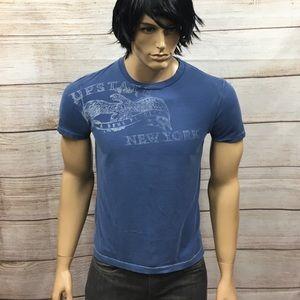 💥Men's American Eagle Vintage Fit NY T Shirt Sz S